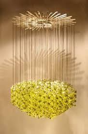 Hanging Light Fixture by Exceptional Venetian Blow Glass Pendant Light Fixture For Sale At
