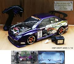 rc hsp drift 1 10 with led speedometer toys rc diecast mainan