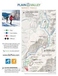 Beaver Lake Map Trail Conditions And Maps U2013 Ski Plain U2013 Nordic Trails