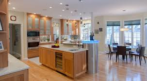 Cherry Cabinets In Kitchen Cherry Wood Kitchen Natural Cherry Cabinets Granite Countertop