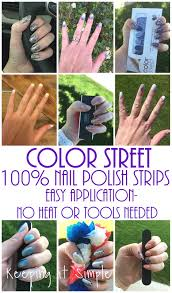 keeping it simple introducing color street 100 nail polish