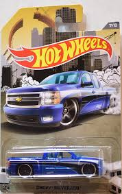 matchbox chevy silverado 1999 wheels rad truck series 2016 chevy silverado blue 1 64