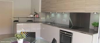 cuisine blanc laqué et bois meuble bas cuisine blanc laqu excellent cuisine blanc laque pas