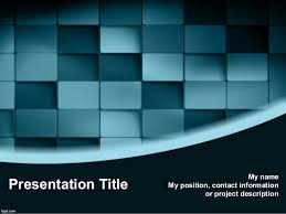 3d design free 3d blue blocks powerpoint template 3d powerpoint bac u2026