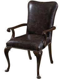 upholstered dining room arm chairs dining room exclusive hyde park leather upholstered dining arm