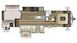 Cougar 5th Wheel Floor Plans 2017 Keystone Cougar Xlite 34tsb Model