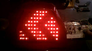 how to make custom led tail lights homemade diy integrated motorcycle led tail light youtube