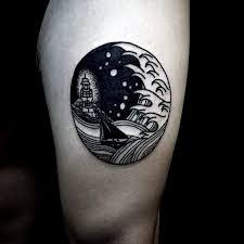 90 circle tattoo designs for men circular ink ideas