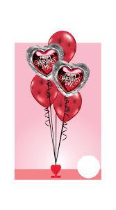 valentines balloons valentines balloon bouquet