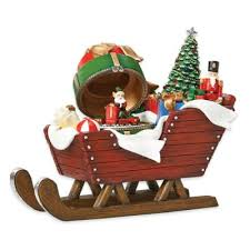 buy sleigh decorations from bed bath beyond