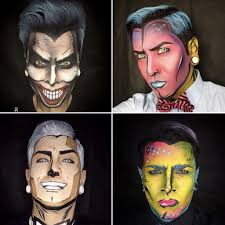 men halloween makeup get ready for your jaw to drop when you see these comic book