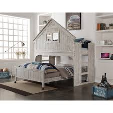 donco kids rustic sand twin tree house loft bed overstock com