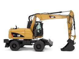 toromont cat m313d wheel excavator