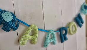 guirlande chambre enfant guirlande textile pour aaron comme j aime