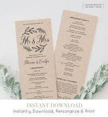 best wedding programs 34 best wedding programs by mp images on wedding