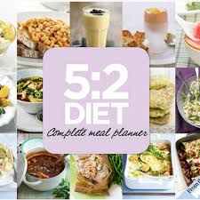 5 2 diet meal plans what to eat for 500 calorie fast days diet