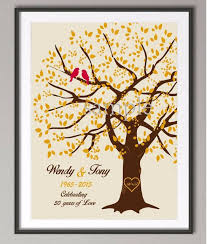 50th anniversary gifts 50th wedding anniversary gifts family tree poste print pictures