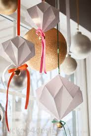 jingle mingle origami jingle bell ornament cuckoo4design