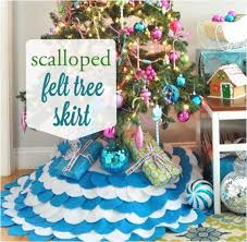 10 terrific tree skirts that are easy to make tip junkie