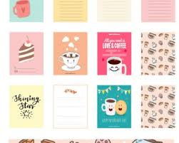 coffee planner stickers printable coffee free printables com