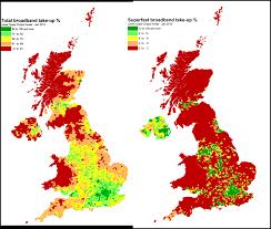 Internet Coverage Map Point Topic Mapping Uk Broadband Take Up U2013 Q4 2012