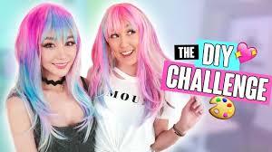Challenge Mamamiamakeup The Diy Challenge 10 Laurdiy Vs Wengie