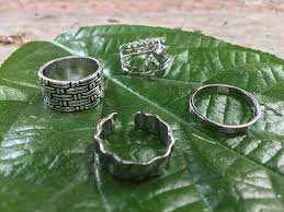silver coloured rings images Bohemian sterling silver coloured hippie rings make a rush jpg