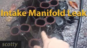 lexus is 250 oil leak replacing a leaking intake manifold gasket youtube
