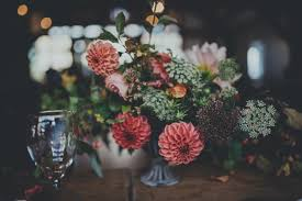 wedding wednesday breath taking autumnal wedding flowers by the