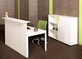 comptoir de bureau nacoa novarec180 comptoir d accueil 180cm burodepo meubles et