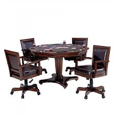 game table and chairs set game table and chair set 5 piece man cave furniture w 4 faux leather