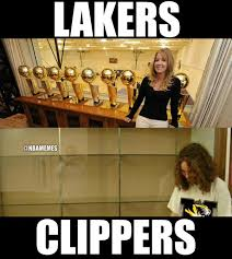 Clippers Meme - nba memes on twitter the difference between lakers and clippers