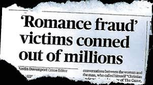 the shocking rise of online dating fraud daily mail online