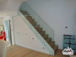 Stair Banisters Uk Stair Renovation Glass Balustrade Wine Rack London Sw11