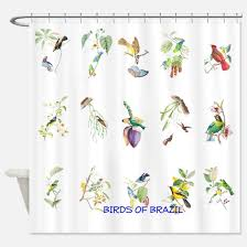 Bird Shower Curtains Audubon Bird Shower Curtains Cafepress