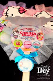 hello kitty that day invites and crafts