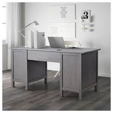 Black Desk With File Drawer Hemnes Desk Black Brown Ikea