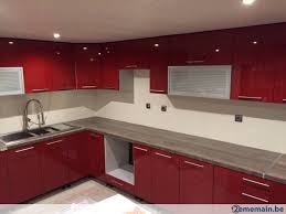 meubles cuisine meubles cuisine angle laquee a vendre 2ememain be