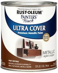 rust oleum 258203 painters touch quart oil based metallic aged