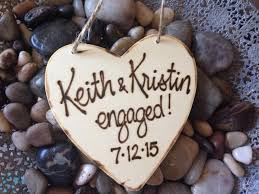 custom ornament newly engaged personalized s