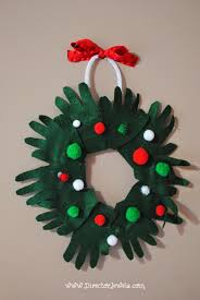 director jewels diy felt handprint wreath