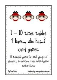 Multiplication Table Games by Best 50 Card Game Table Foter