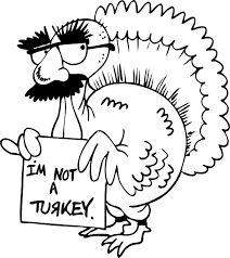 thanksgiving coloring page turkey in disguise