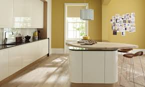 remo contemporary curved gloss kitchen in grey