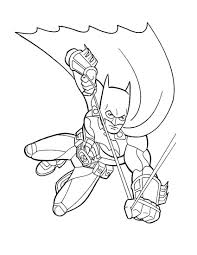 free printable batman coloring pages kids