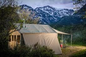 Tent Awning Barebones Outfitter Safari Tent