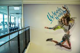 les mills gym grafton balcony wall graphic unleash tailor inc les mills gym grafton balcony wall graphic unleash