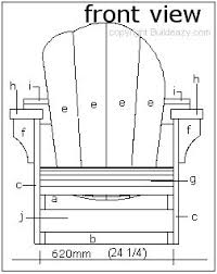Free Adirondack Deck Chair Plans by 121 Best Chairs Images On Pinterest Woodwork Armchair And