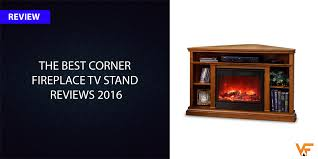 the best corner fireplace tv stand reviews 2017