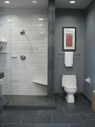 Ceramic Tile Bathroom Designs Ideas by Grey Tile Bathroom Ideas Our New Bathroom I Like The Combination